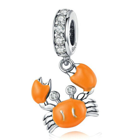 CHARMS BEADS do Pandora SREBRO 925 Krab