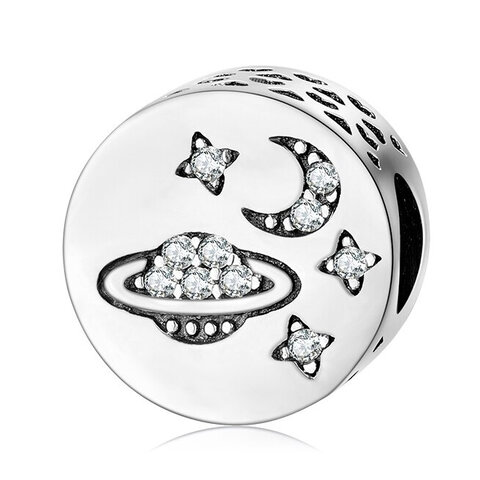 CHARMS BEADS do Pandora SREBRO 925 Planeta Gwiazdy